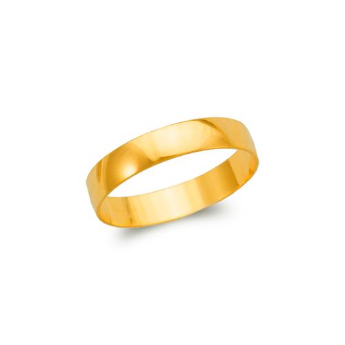 377-004 4mm Plain Stamping Wedding Band