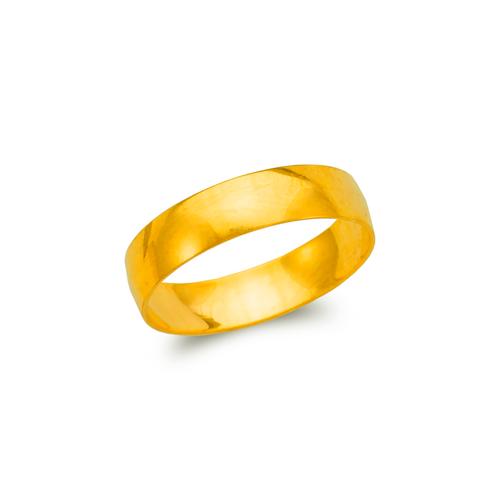 377-005 5mm Plain Stamping Wedding Band