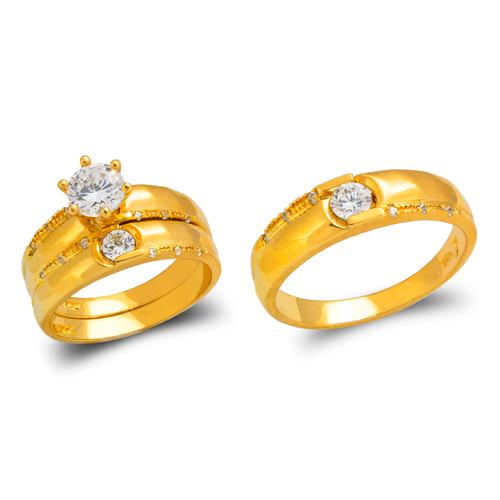 473-685S Wedding Trio Ring Set