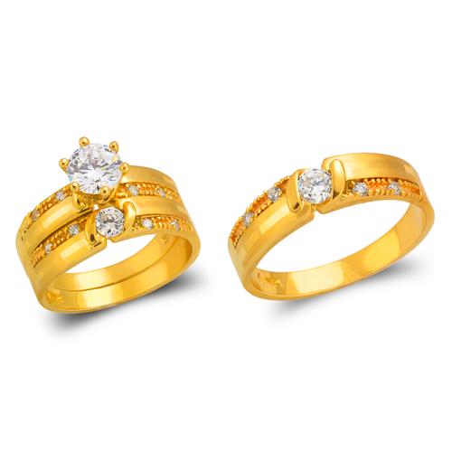 473-691S Wedding Trio Ring Set