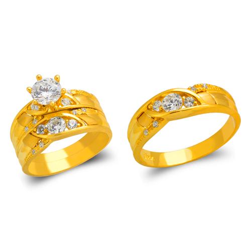 473-801S Wedding Trio Ring Set