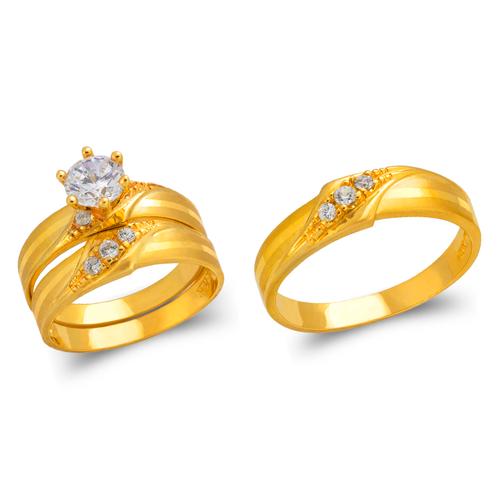473-807S Wedding Trio Ring Set