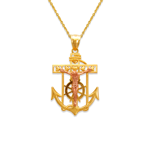 568-066A Jesus Anchor Pendant
