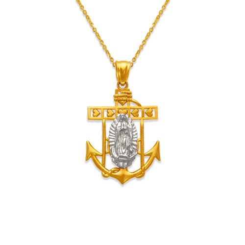 568-070B Guadalupe Anchor Pendant