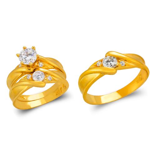 473-810S Wedding Trio Ring Set