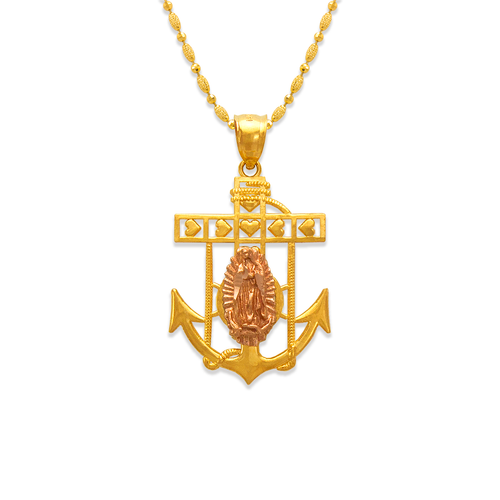 568-071A Guadalupe Anchor Pendant
