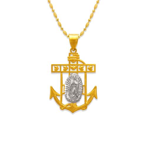 568-071B Guadalupe Anchor Pendant