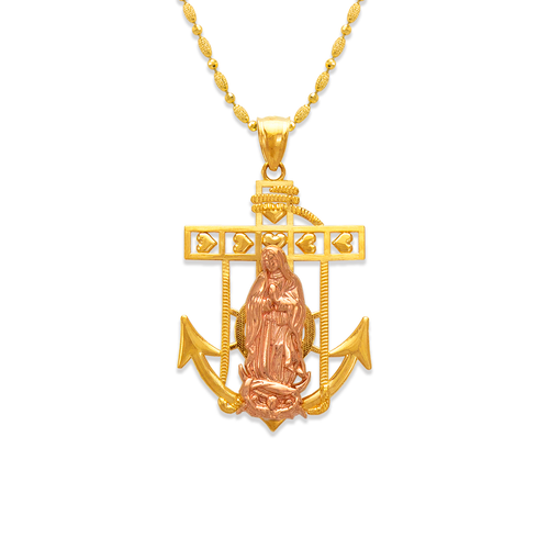 568-072A Guadalupe Anchor Pendant