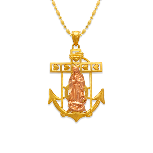 568-073A Guadalupe Anchor Pendant
