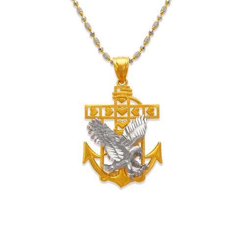 568-075 28mm Eagle Anchor Pendant