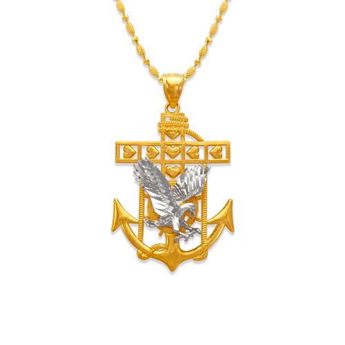 568-076 34mm Eagle Anchor Pendant