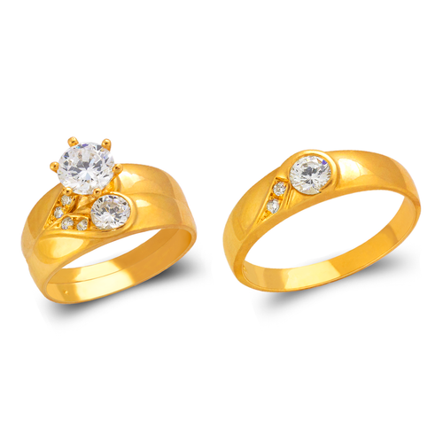 473-813S Wedding Trio Ring Set