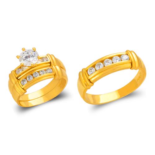 473-819S Wedding Trio Ring Set