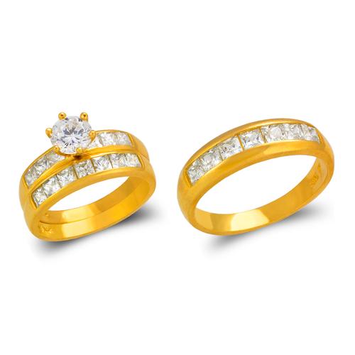 473-822S Wedding Trio Ring Set