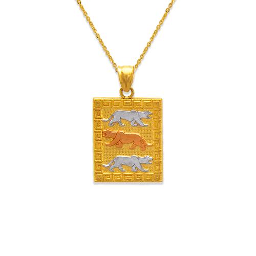 568-119 Tiger Pendant