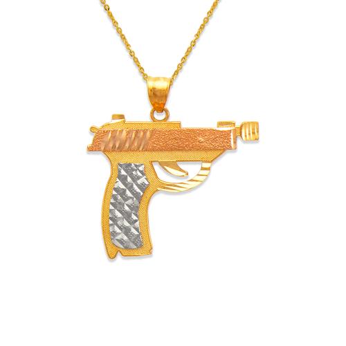 568-124 29mm Handgun Pendant
