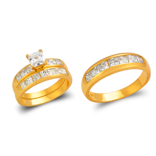 473-828S Wedding Trio Ring Set
