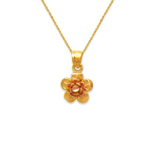 568-143 Rose Petal Pendant