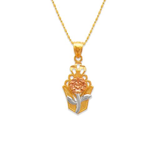 568-146 Rose Bouquet Pendant