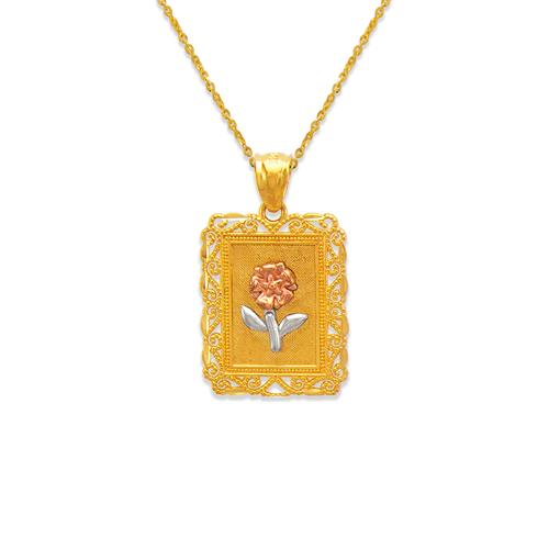568-155 Rose Pendant