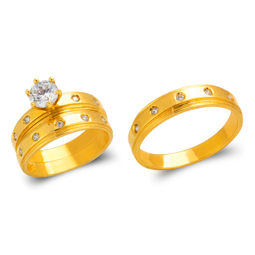 473-834S Wedding Trio Ring Set