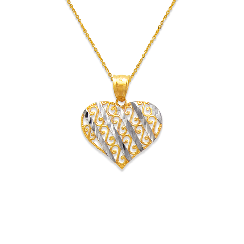 568-168 Decorative Heart Pendant