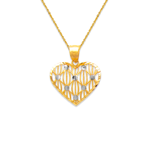 568-169 Decorative Heart Pendant