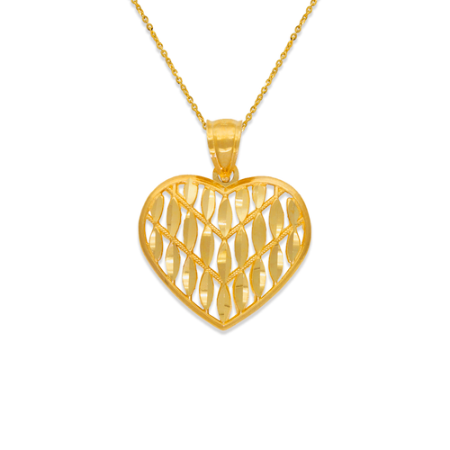 568-170 Decorative Heart Pendant