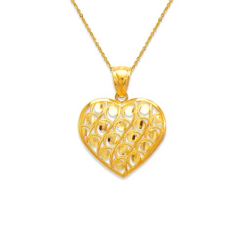 568-171 Decorative Heart Pendant