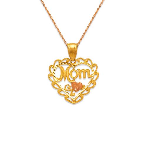568-286 Mom Heart Pendant