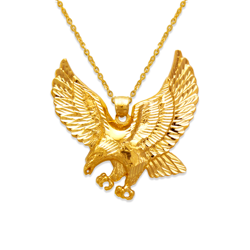 568-620 47mm Eagle Pendant