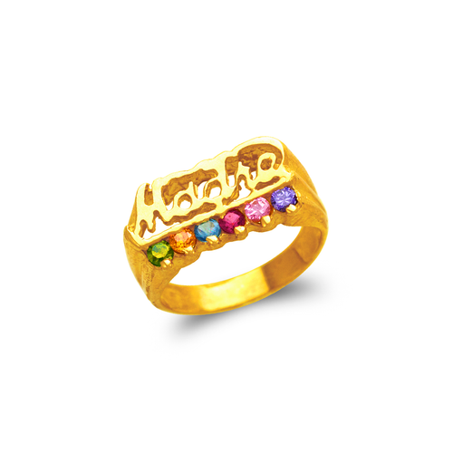 573-006 Madre CZ Ring