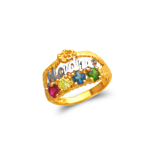 573-007 Madre CZ Ring