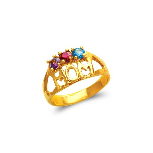 573-009 Mom CZ Ring