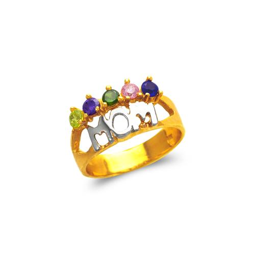 573-011 Mom CZ Ring