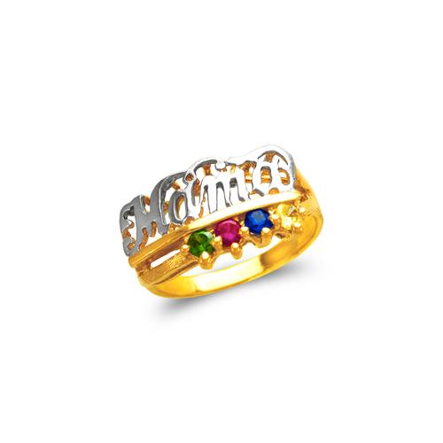 573-014 Mama CZ Ring