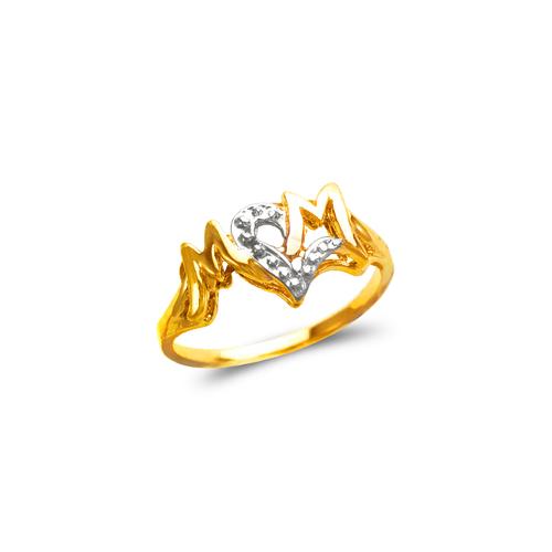 573-023 Mom CZ Ring