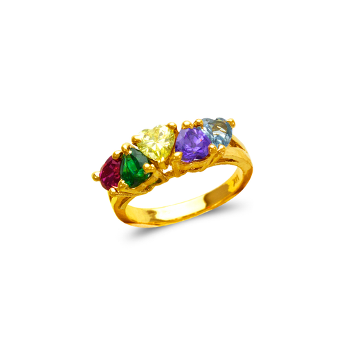 573-033 Mother's CZ Ring