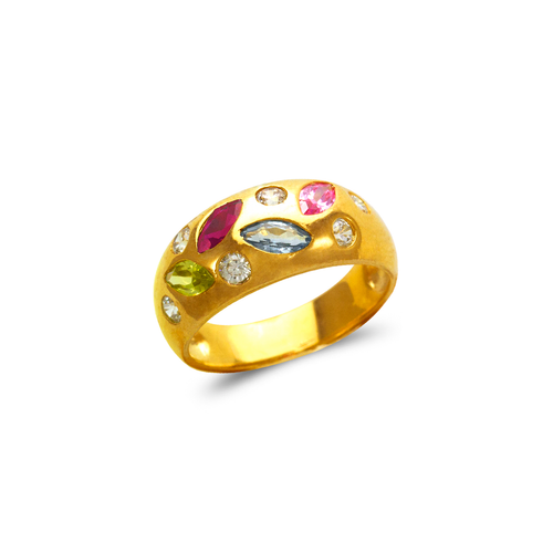 573-040 Mother's CZ Ring