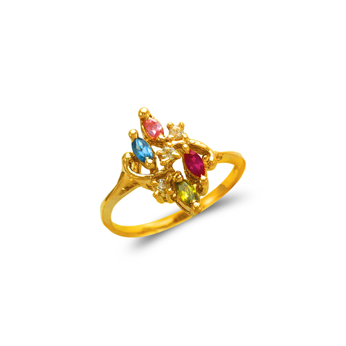 573-050 Mother's CZ Ring