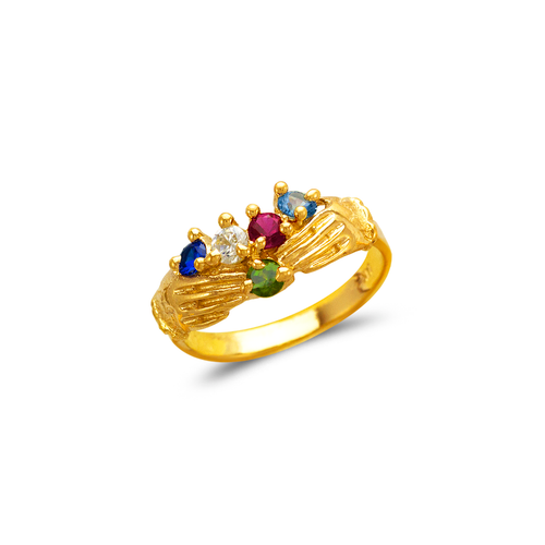 573-056 Mother's Claddagh CZ Ring