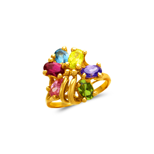 573-064 Mother's CZ Ring