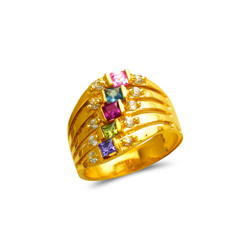 573-072 Mother's CZ Ring