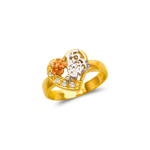 573-211 Ladies 15 Anos Ring