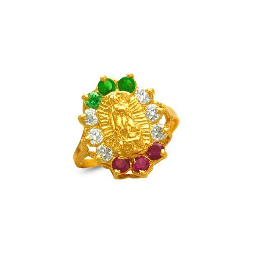 573-216 Ladies Guadalupe CZ Ring