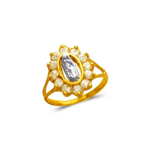 573-217 Ladies Guadalupe CZ Ring