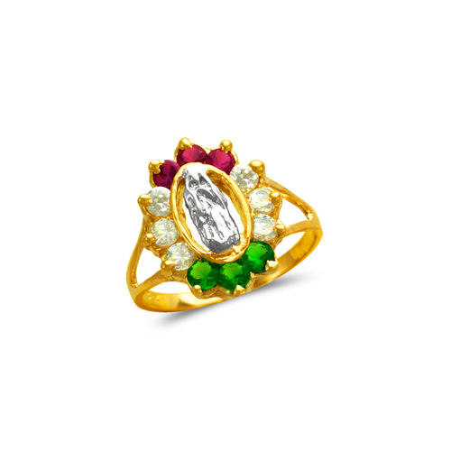 573-218 Ladies Guadalupe CZ Ring