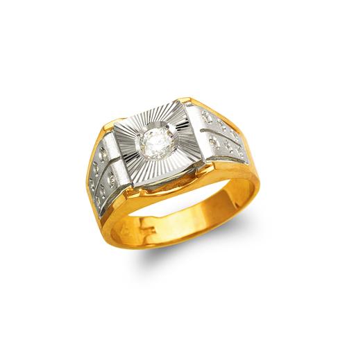 473-010 Men's Fancy CZ Ring
