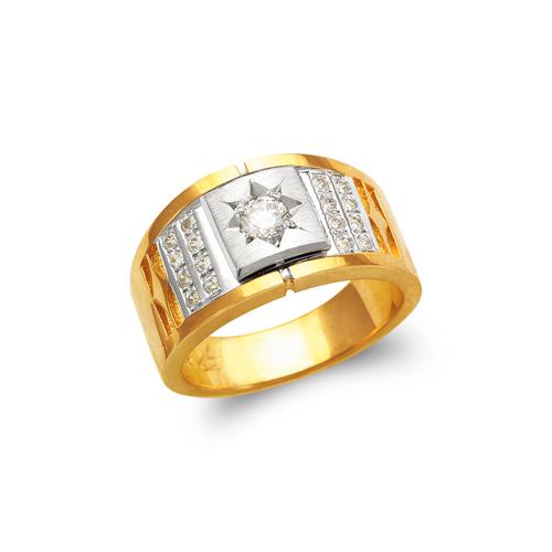 473-012 Men's Fancy CZ Ring