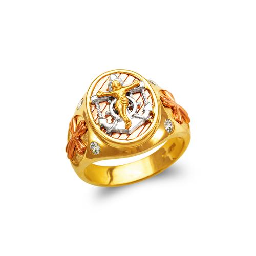 473-016 Men's Fancy CZ Ring